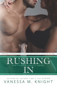 rushing in