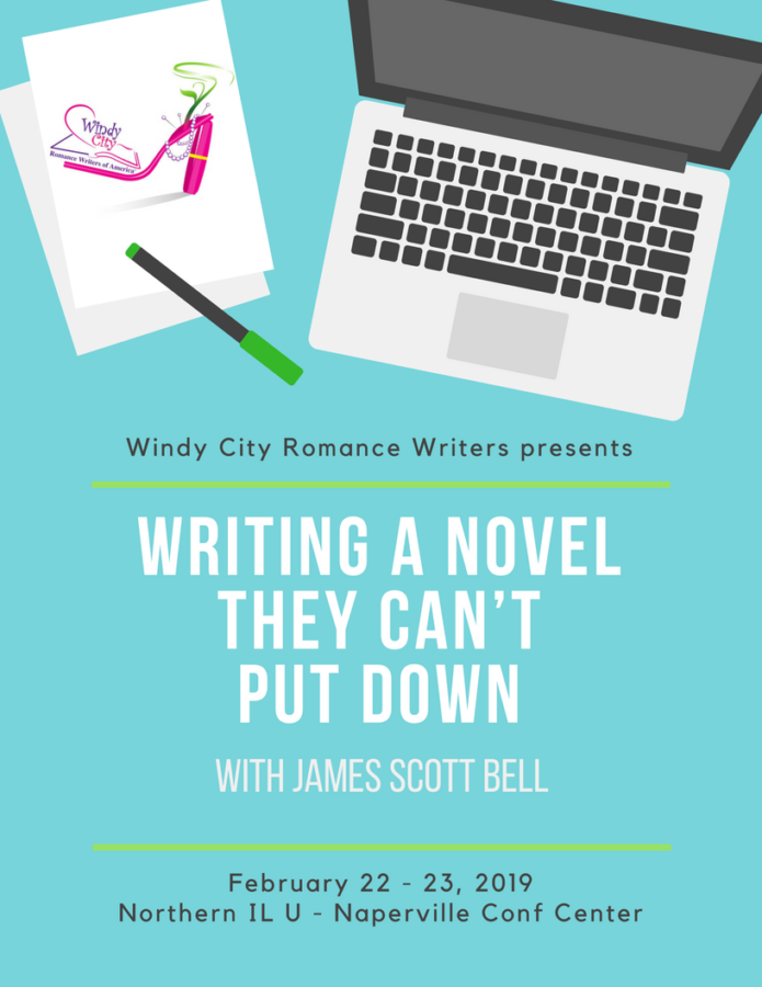 Windy City Romance Writers presents Writing A Novel They Can't Put Down with James Scott Bell