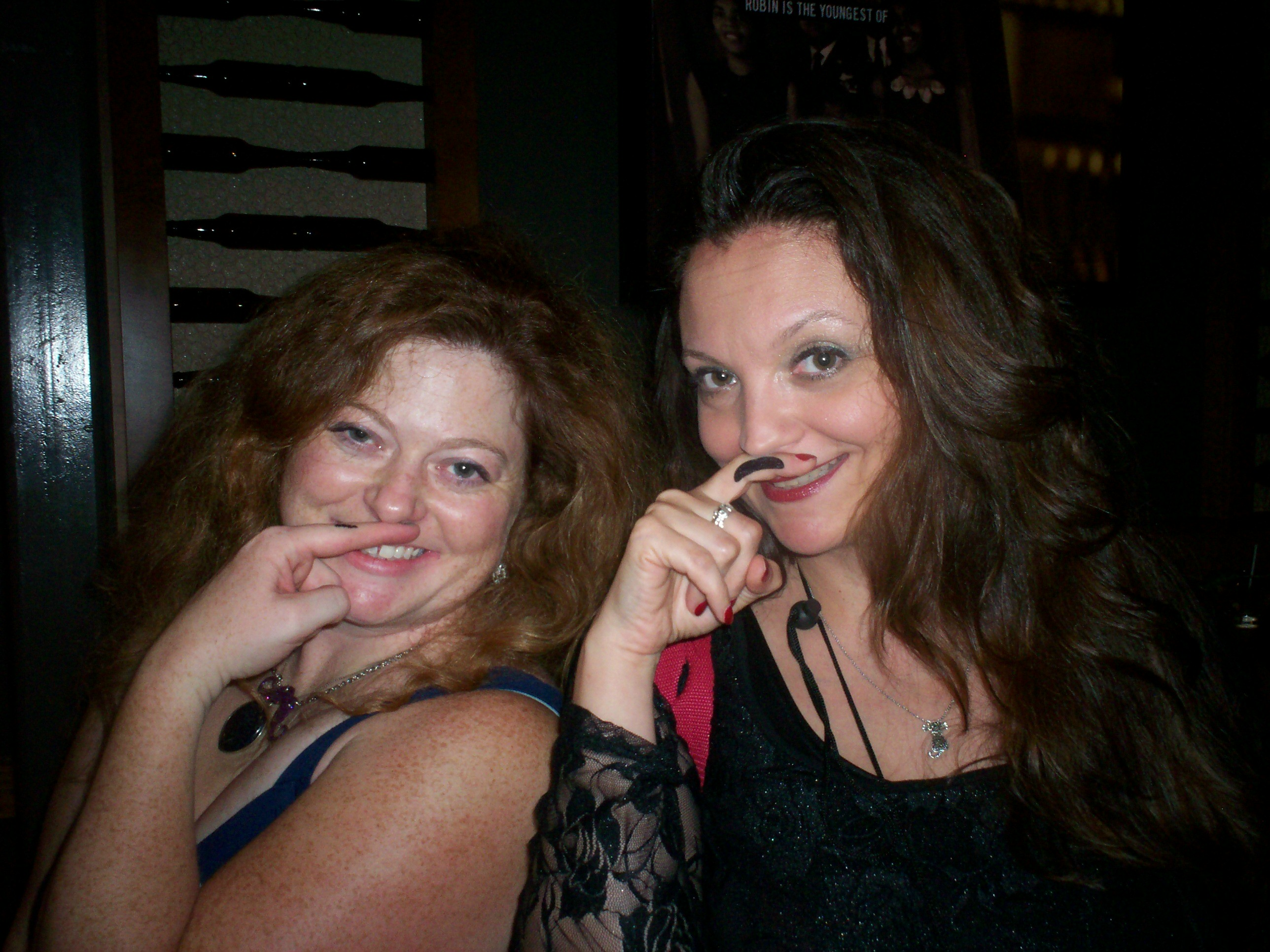 Melonie of Chicago North and Sav ~ Mustaches and Mayhem ensue!
