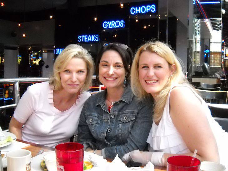 Tracey Devlyn, Kelsey Browning and Jennifer Fusco.