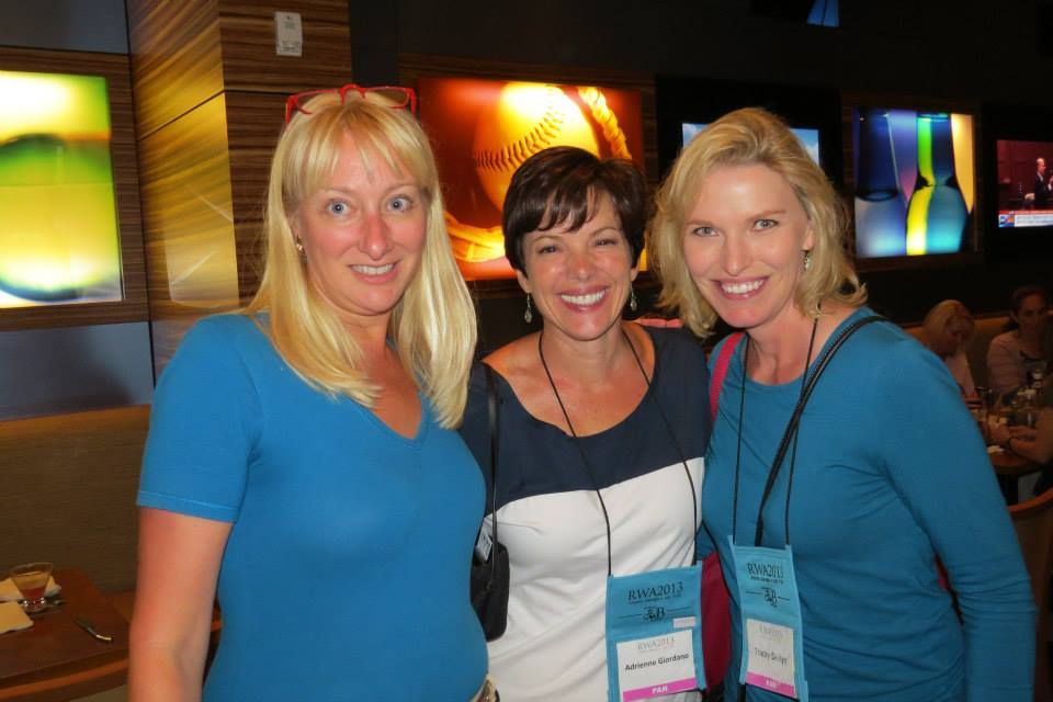 Amy Atwell, Adrienne Giordano and Tracey Devlyn.