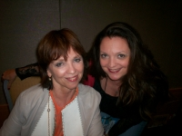 Savannah's fan girl moment with THE Nora Roberts!