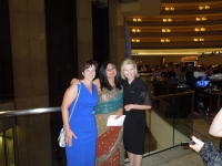 Adrienne, Sonali and Tracey.