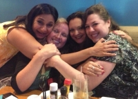 Windy City group hug!