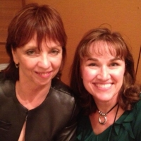 Mary's fangirl moment with The Queen of Romance herself, Nora Roberts.