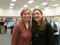 Tracey Devlyn and Leah Hultenschmidt