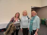 Karen Doornebos, Noirin Leahy Makowski, and Sherry Weddle